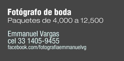 Fotografo de Boda Emmanuel Vargas Guajardo